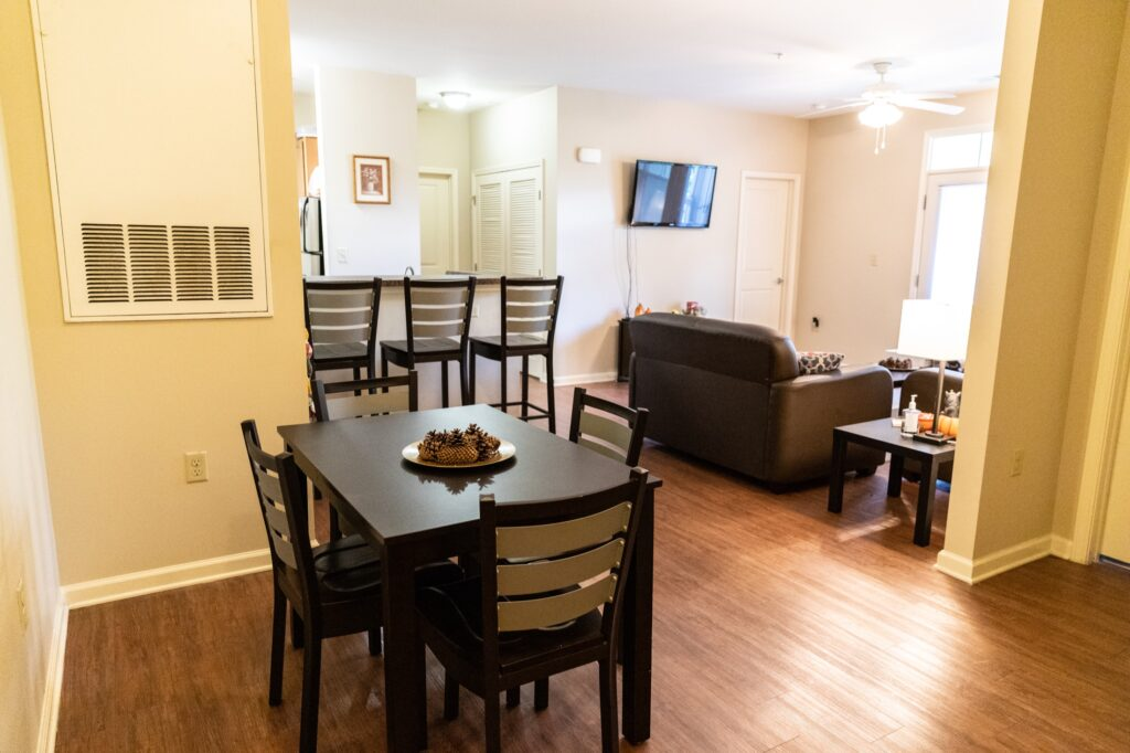 Walden Station amenities fully furnished apartment